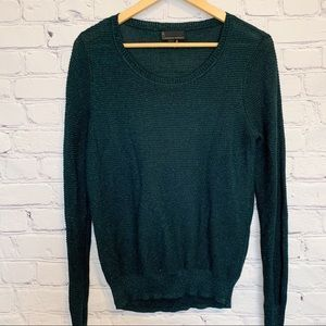 i Jeans by Buffalo emerald green sparkly sweater L